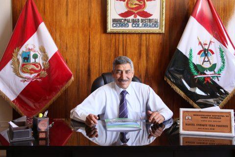 Econ. Manuel E. Vera Paredes, alcalde de Cerro Colorado
