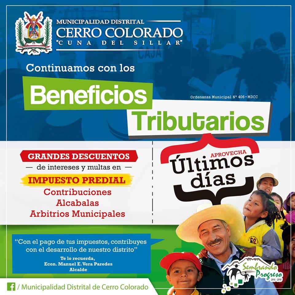 Beneficios Tributarios Cerro Colorado