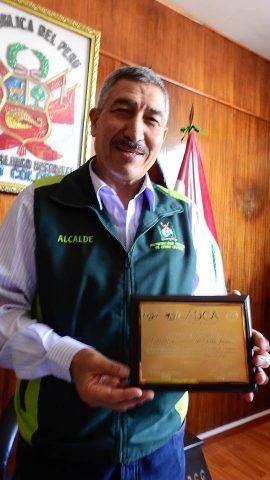 Manuel Vera Paredes es reconocido