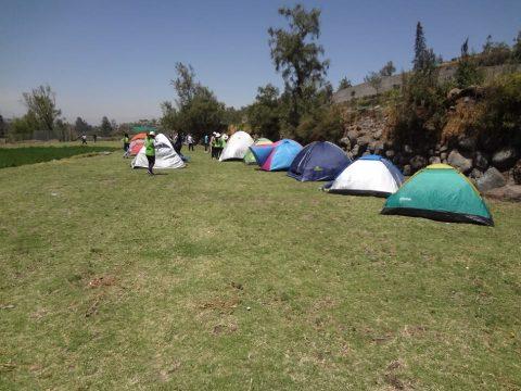 Campamento de Jóvenes organizó la Municipalidad de Cerro Colorado