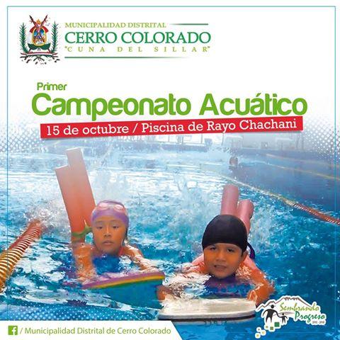 Primer campeonato acuático
